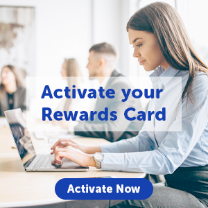 Activate Rewards Card